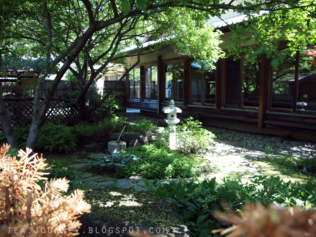 June 2014 tea journey living beyond your cup for Japanese garden house