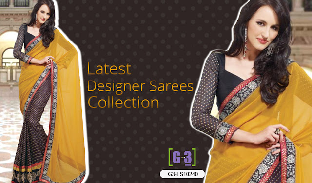 Latest Designer Sarees Design