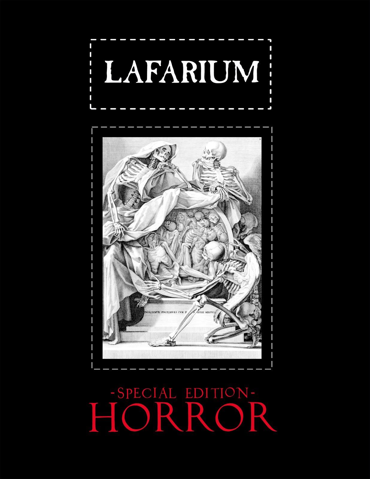 LAFARIUM Special Edition HORROR (2015)