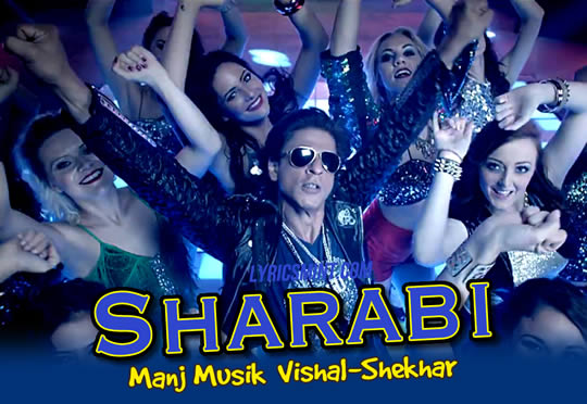 Shahrukh Khan in Sharabi from Happy New Year