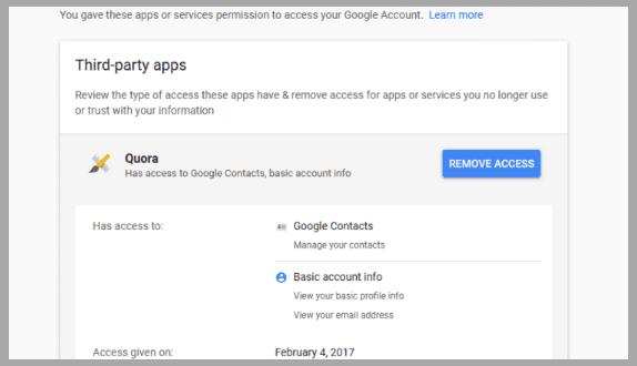 تعرف على التطبيقات في هاتفك التي تصل إلى بياناتك الخاصة وكيف يمكنك حذفها image5.png