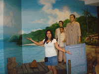 with subic locals in the museum