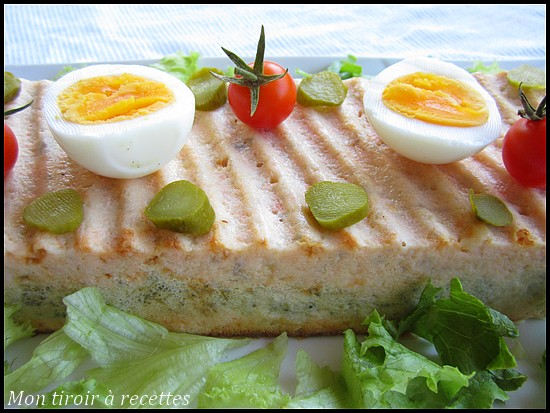 Terrine saumon et brocolis