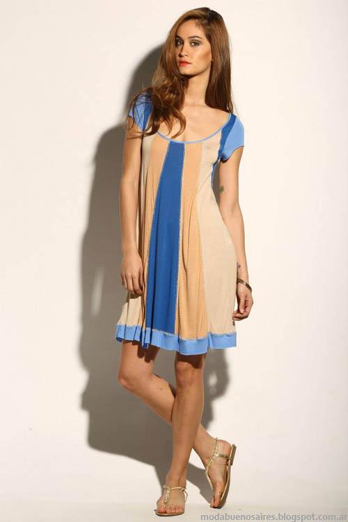 Vestidos 2014 Sathya verano 2014. Moda vestidos 2014.