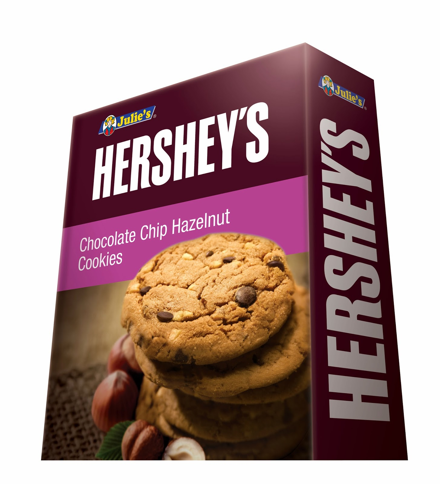 Julie's Hershey's Chocolate Chip Hazelnut Cookies