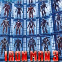 Iron Man 3: Galería y análisis de las armaduras