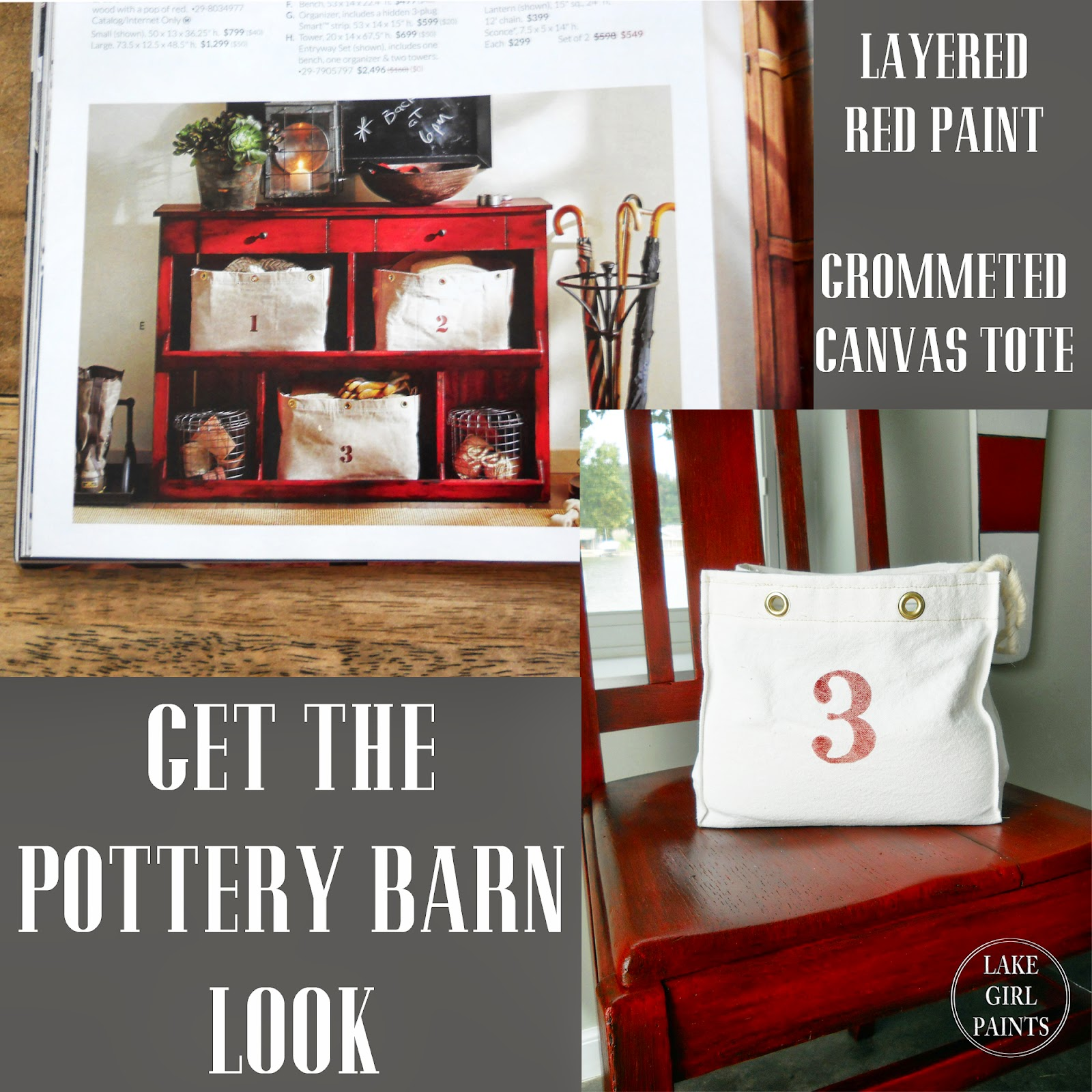 My Pottery Barn Look on a Budget. Lake Girl Paints  My Pottery Barn Look on a Budget