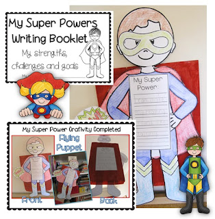Super Powers Craftivity Learning Goals Clever Classroom blog image