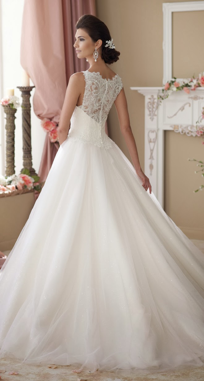 David Tutera for Mon Cheri Spring 2014 Bridal Collection – Part 1