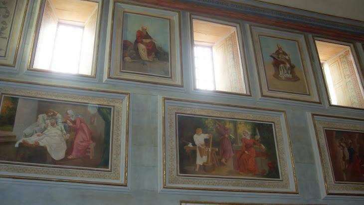 telas lado esquerdo da capela mor