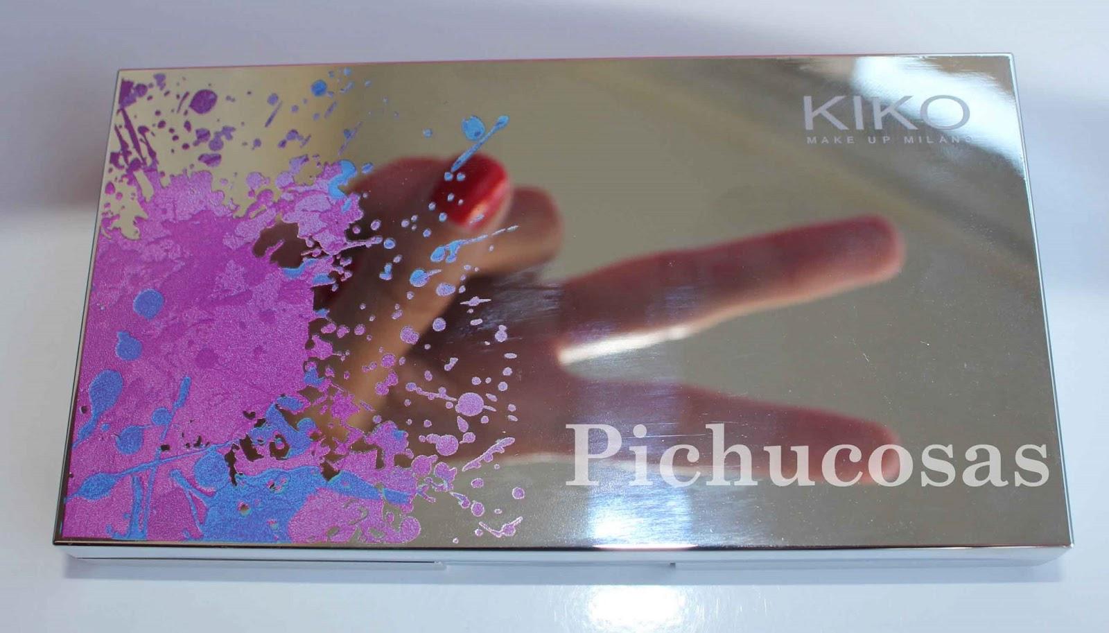 Pichucosas colour party pallette de kiko - Pintaunas kiko efecto espejo ...