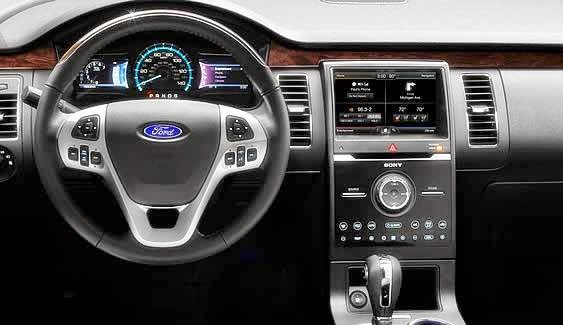2014 Ford Flex SEL Interior