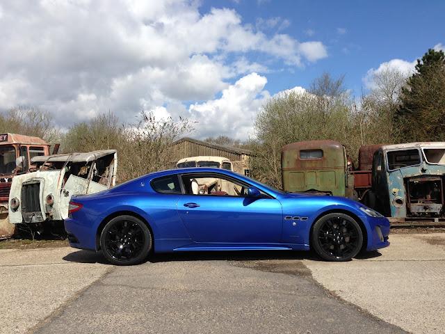 Maserati GranTurismo Sport in Blu Sofisticato