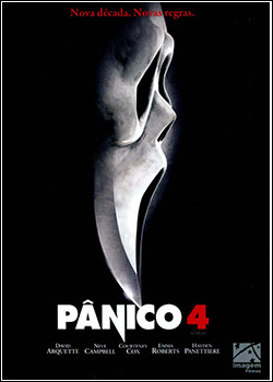 Download - Pânico 4 BDRip - AVI - Dual Áudio