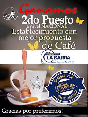 PREMIOS LA BARRA 2014