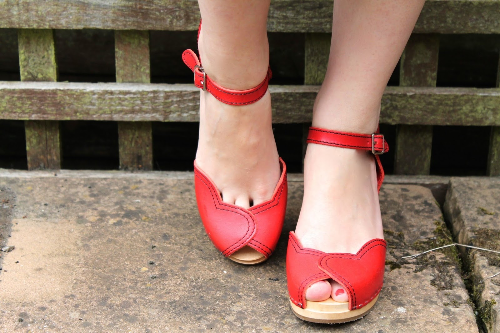 Swedish Hasbeens Heart Sandal in red review