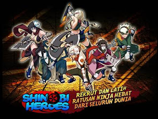 Download Game Naruto Android .APK Shinobi heroes