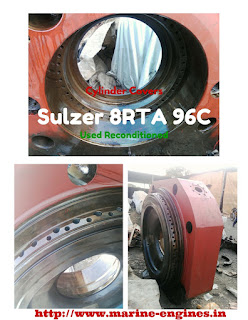 Sulzer 9RTA spare parts, cylinder, cylinder head, piston, covers, block, connecting rod, shispares, engine, fuel pump