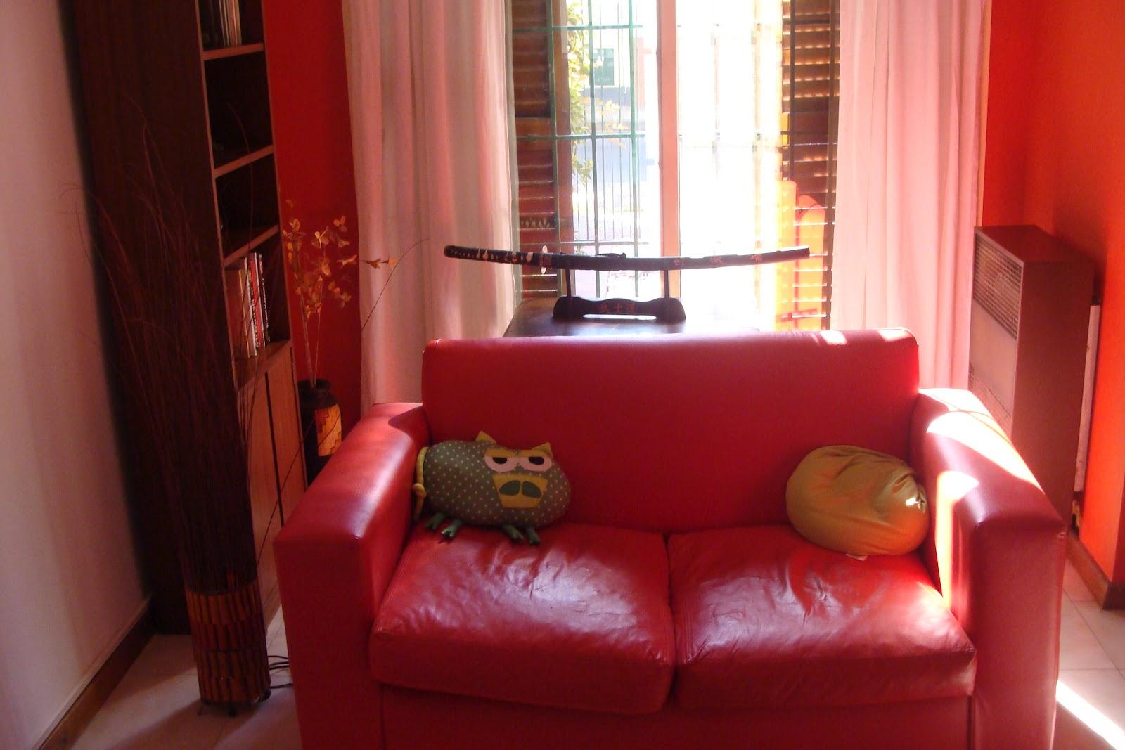 Decoracion Living Rojo ~ Mi peque?o gran mundo Mi sill?n rojo