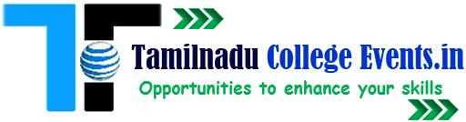 Tamilnadu College Events : 2016 Workshop Conference Symposium Project Paper Presentation FDP Seminar
