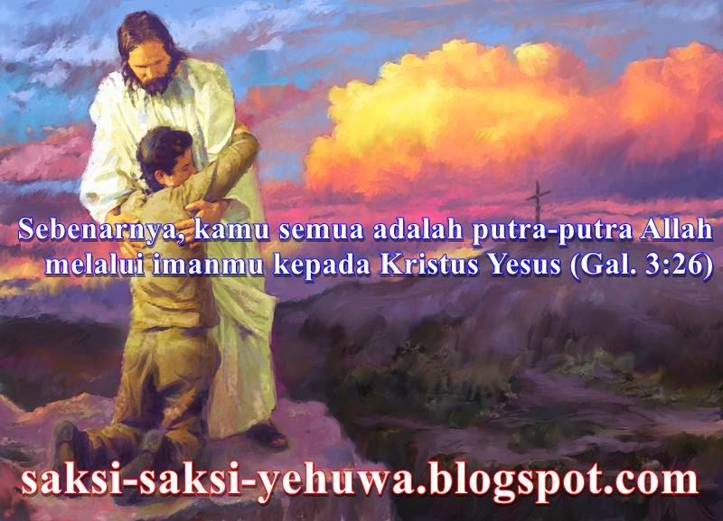 saksi yehuwa bukanlah anak-anak allah galatia 3:26