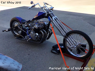 Car Show Part 4; motorcycles at the car show. Night Sea 90.