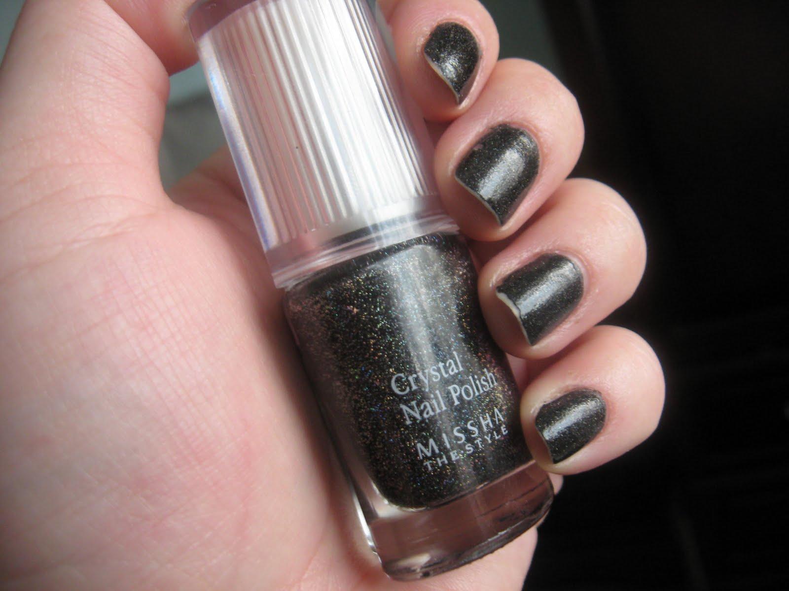Miss ebony nail polish