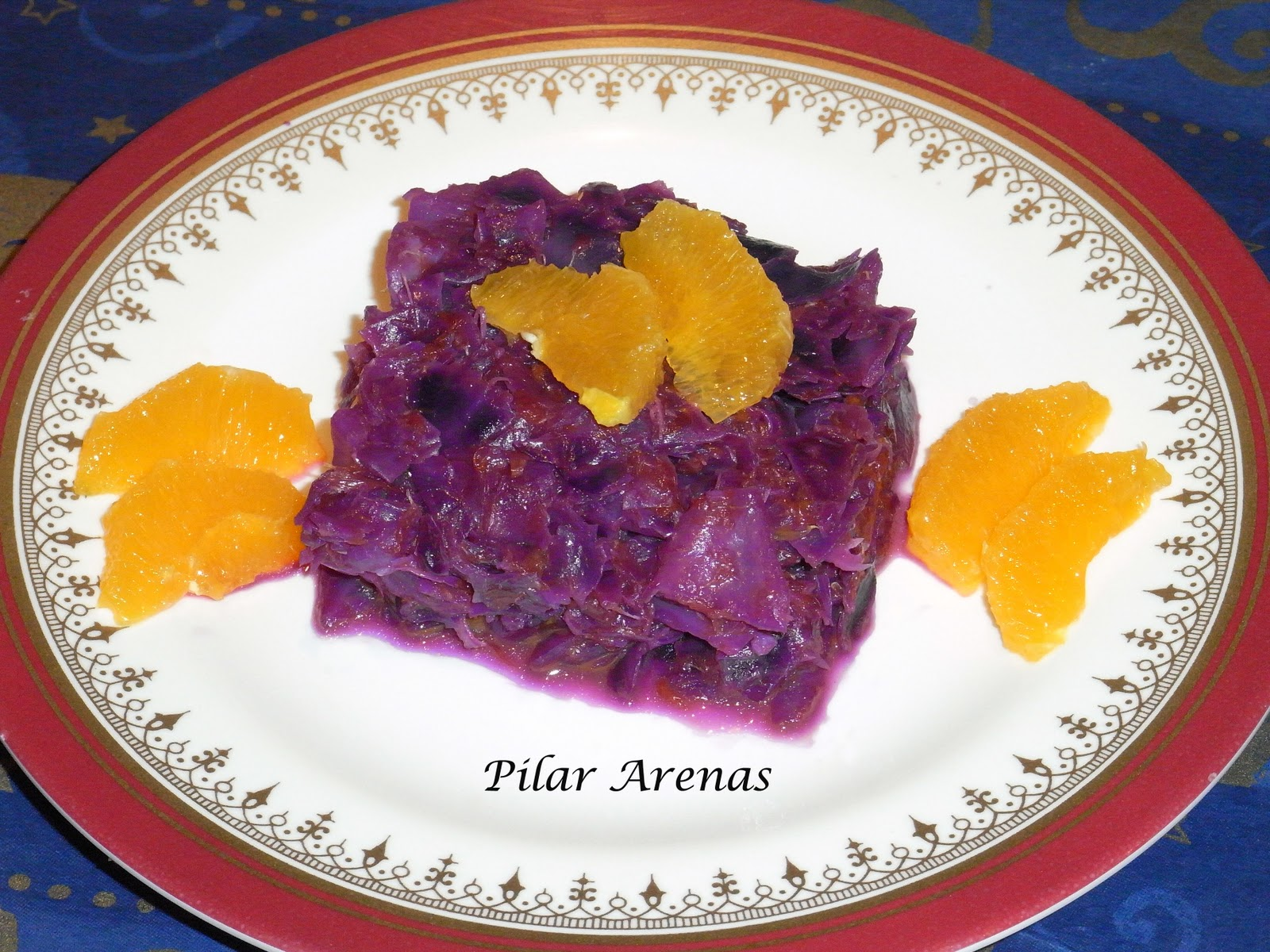 Lombarda con naranja thermomix utilizando thermomix cocina f cil y barata - Cocina facil y saludable thermomix ...