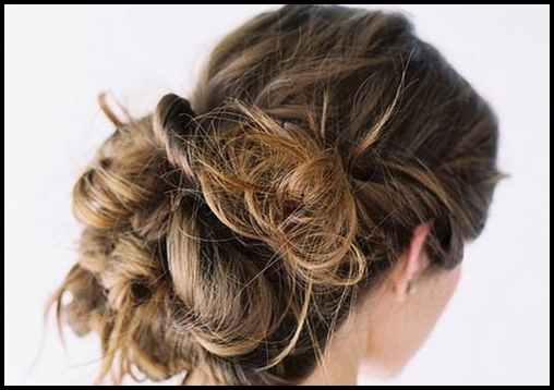 top 6 easy casual updos long