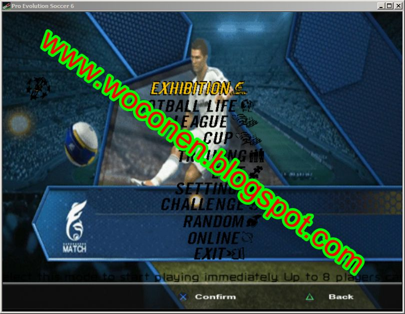 tampilan background Pes6 ke pes 2013 mengubah tampilan background Pes6