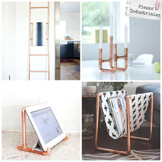 Ideas piezas industriales en decoraci n la taza de loza for Ideas para piezas