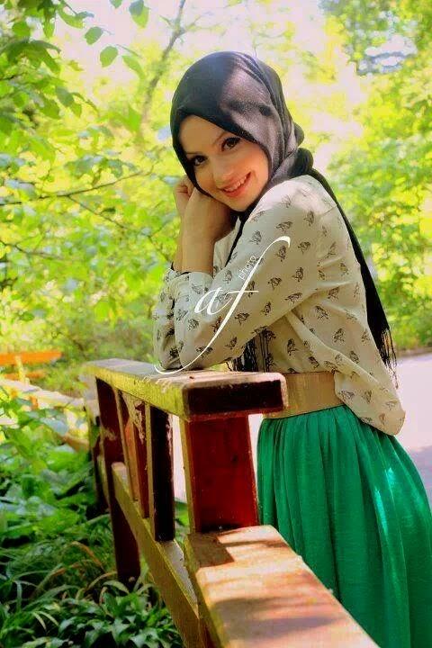 robe-hijab-verte-2015