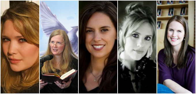 Sarah J. Maas, Suzanne Collins, Veronica Rossi, A.G. Howard, Marissa Meyer