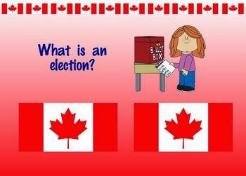 http://www.teacherspayteachers.com/Product/Canadian-Federal-Election-Process-Package-for-SMART-Board-539292