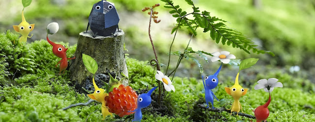Pikmin 3 game now available at new DLC content via the Nintendo eShop