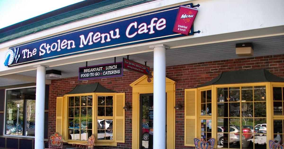 Stolen Menu Cafe York Maine