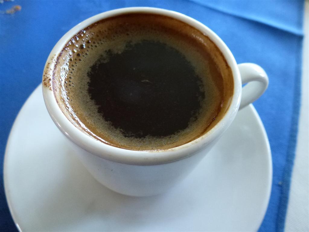 caffé greco con fondi