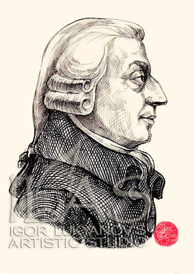 Adam Smith, portrait