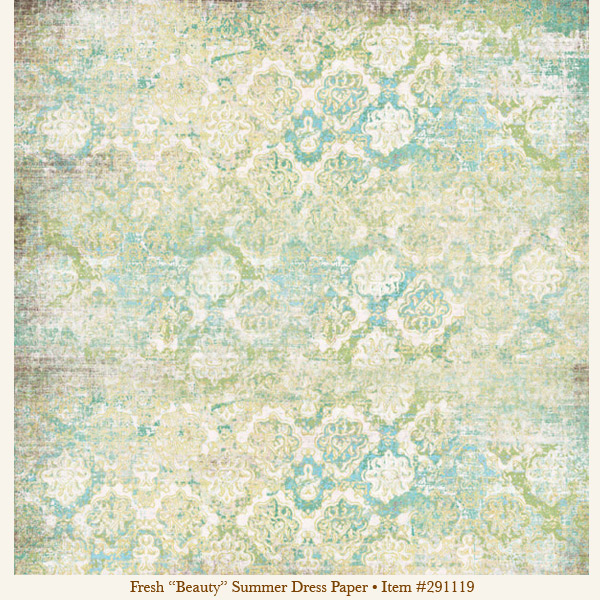 Jooni Jewelry Inspiration Shabby Chic Scrapbook Paper