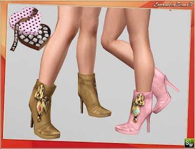 Shoes / Heels LorandiaSims3_Accessories_L_92
