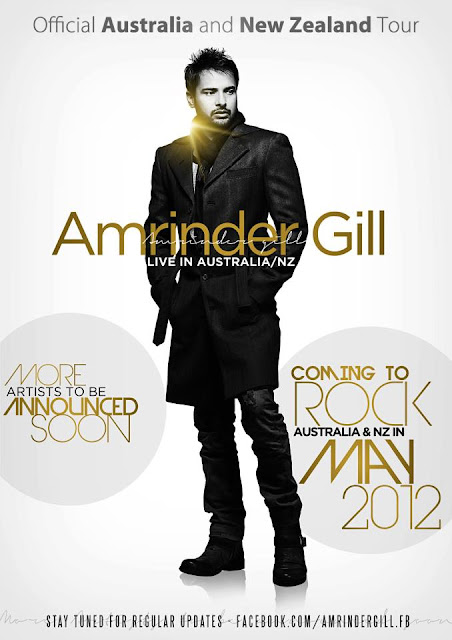 Amrinder Gill Official Australia and New Zealand Tour May 2012