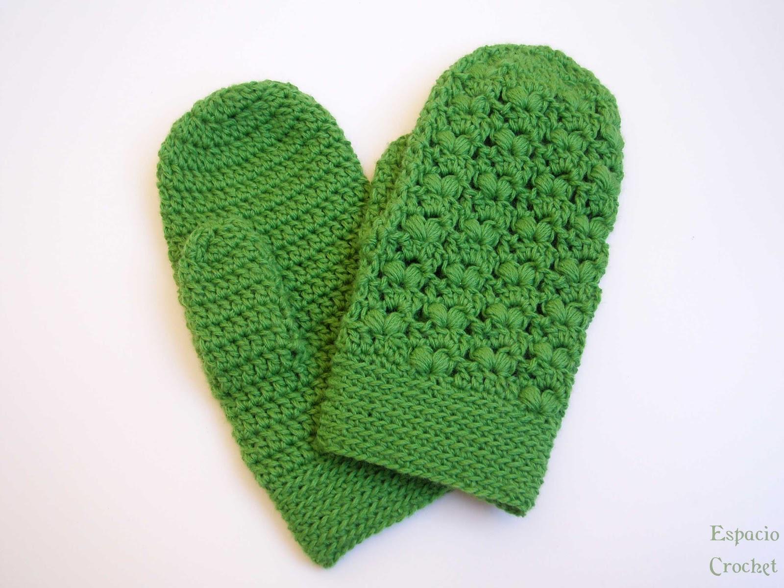 Manoplas   Espacio Crochet