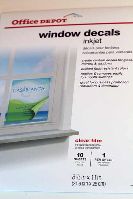 Office Depot Window Decals Template Custom Vinyl Decals - Office depot window decals template