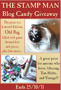 The Stamp Man - The Old Bag Blog Candy Giveaway.