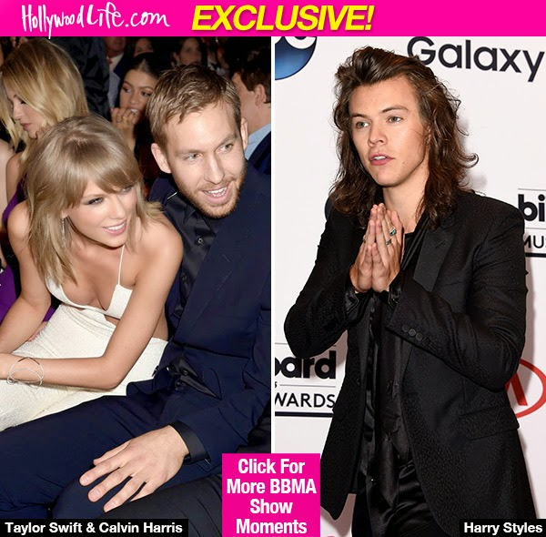 Taylor Swift Gets 'Sweet Revenge' On Harry Styles By Being With Calvin Harris At BBMAs