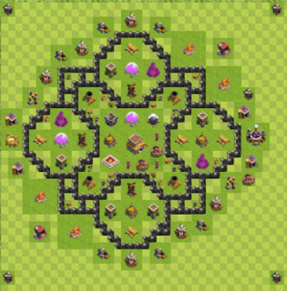Base Hybrid Layout TH8 By. Usman Sial