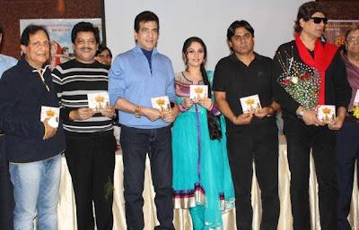 Jeetendra & Gracy Singh At Mahabharat Music Launch