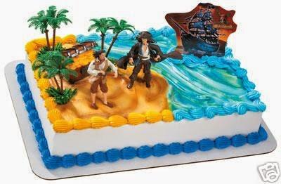 Tortas Piratas del Caribe, parte 3