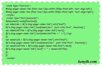 Modifikasi Blockquote atau Highlight Artikel Blog