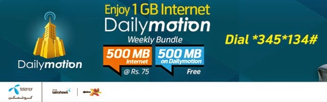 News Dailymotion Telenor Pakistan